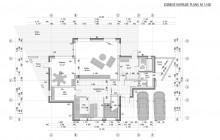 Esimese korruse plaan M 1:100
